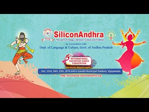 SiliconAndhra International Kuchipudi Dance Convention LIVE from Vijayawada