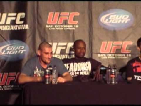 Paul Sass Post Fight Presser talks UFC 120 Submission of the Night