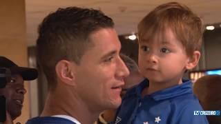 Assista aos bastidores da vitória do Cruzeiro sobre o Sport pelo Campeonato Brasileiro.