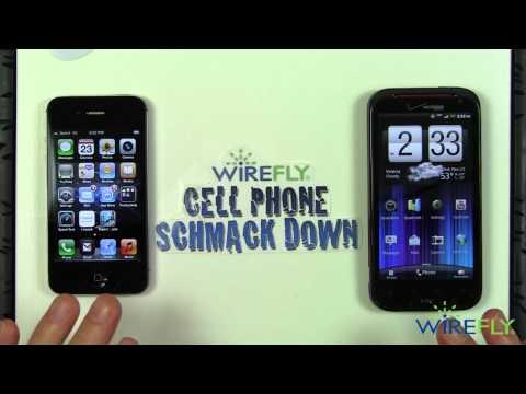 Schmackdown! HTC Rezound vs iPhone 4S Schmackdown