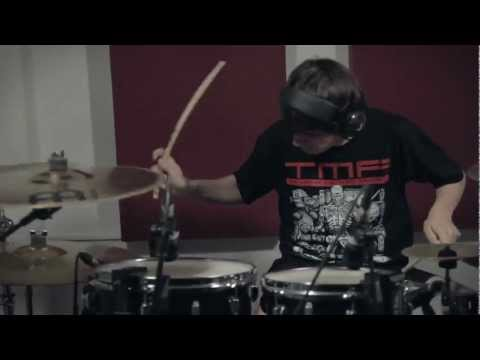 Marcos Martnez - Dawn Of The Maya - Purified In Blood [Drum Play Through at TMF Studios]