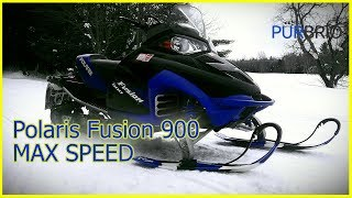 3. Modified Polaris Fusion 900 High Speed Run