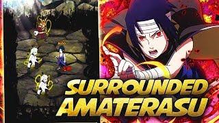 ** SS RANK KIRIN SASUKE RAID AMATERAU EVERYWHERE * | ** Naruto Ultimate Ninja Blazing *