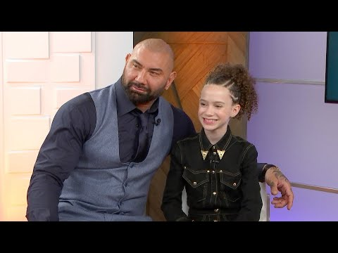 Dave Bautista on Attempting Ice Skates With 'My Spy' Co-Star Chloe Coleman | Full Interview