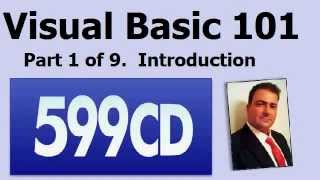 Visual Basic 101 Tutorial Part 1 Of 9