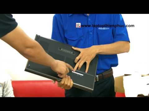 Unboxing Dell Precision M6600