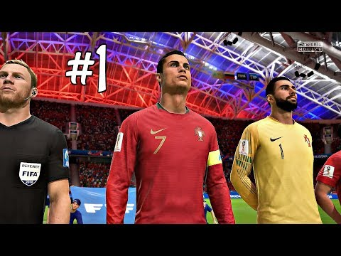 FIFA 18 World Cup Gameplay Part 1 - Portugal & France Group Stages | Xbox One Gameplay