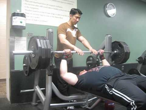 405 Raw Bench Press