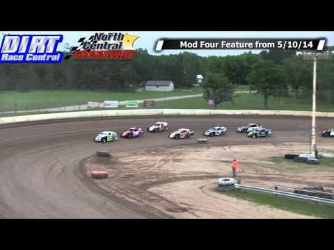 North Central Speedway Make Up Features from 5 10 14 Mods, Mod 4, Pures