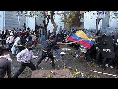 Ισημερινός: Βίαιες διαδηλώσεις εναντίον του προέδρου Κορρέα