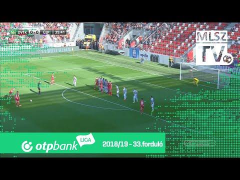 33. forduló: DVTK - Újpest 3-0 (1-0)