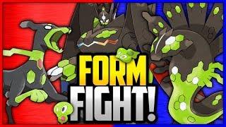 Zygarde: 10% Forme vs 50% Forme vs Complete Forme | Pokémon Form Fight by Ace Trainer Liam