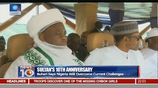 Pt.1 - Buhari Assures Nigeria Will Overcome Current Challenges