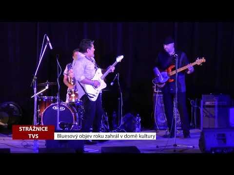 TVS: Strážnice - Bluesový objev roku zahrál v domě kultury