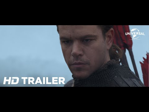 The Great Wall (2016) Official Trailer 1 (Universal Pictures) HD