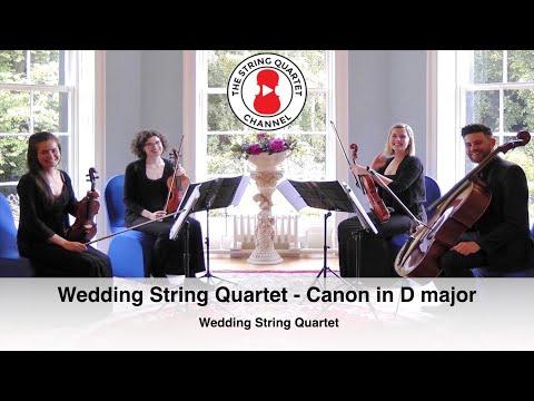 Wedding String Quartet (Canon in D major) Johann Pachelbel