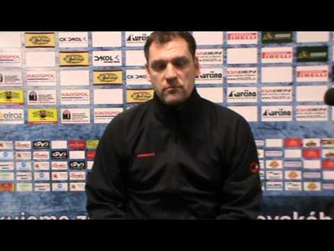 Baráž 3.kolo: AZ - Tábor, trenér T. Potěšil (AZ)