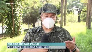 Tecnologia aliada da polícia ambiental na fiscalização de desmatamentos