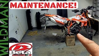 6. A little bit of maintenance on the Beta 390 RR-S