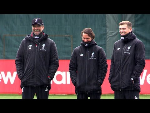 Liverpool Train Ahead Of Porto Champions League Clash