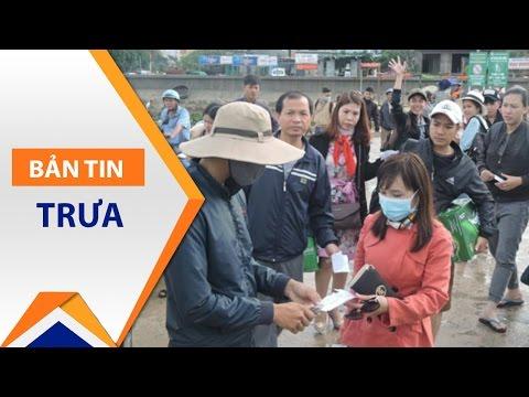 Hơn 300 du khách mắc kẹt ở đảo Lý Sơn | VTC - Thời lượng: 47 giây.