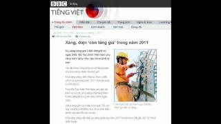 25-02-2011 - BBC Vietnamese - Xăng, điện 'còn Tăng Giá' Trong Năm 2011