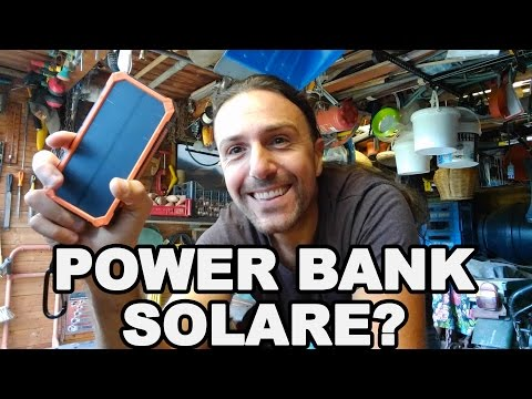 Power bank solare, sola colossale?