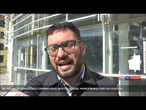 26/02/2020 | EMERGENZA CORONAVIRUS, BUSITALIA: «GEL MANI A BORDO PER CHI VIAGGIA»