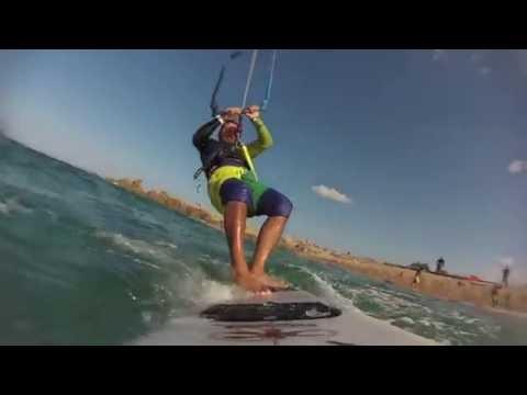 Vignola Sardinia 2014 - Kitesurfen