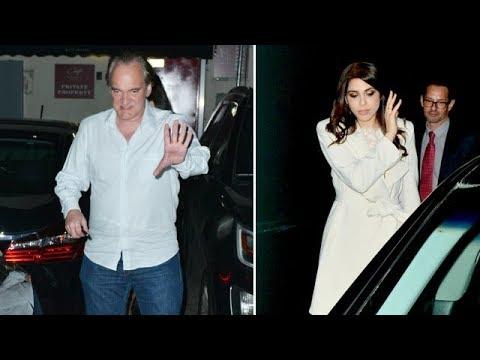 Quentin Tarantino And Fiancee Daniela Pick Enjoy Date Night In WeHo