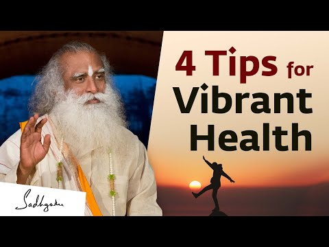 3 Tips for a Yogic Diet - Sadhguru | Isha Hatha Yoga