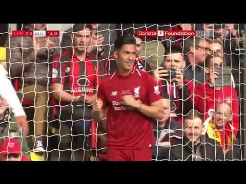 Luis Garcia- Liverpool Legends vs AC Milan Legends