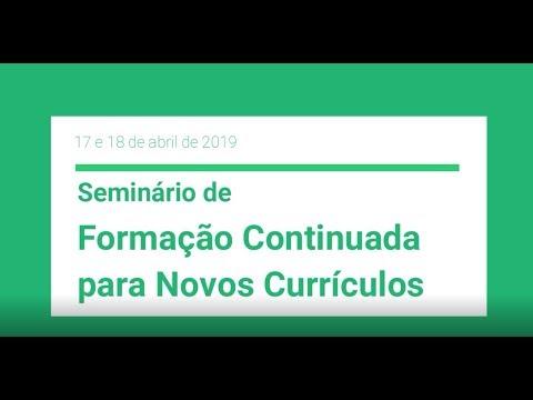 Seminário de Formação Continuada para Novos Currículos