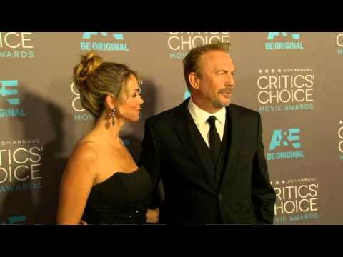 Critics Choice Awards 2015: Kevin Costner Red Carpet