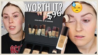 $96 WORTH THE HYPE? 🤷 Hourglass Vanish Foundation First Impression by Shaaanxo