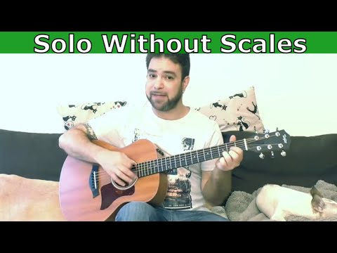 How to Solo Without Knowing Scales (Hint: Chord Visualization) – Guitar Lesson Tutorial