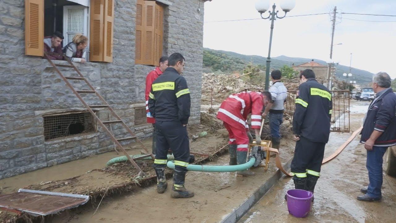 Καταστροφές από την κακοκαιρία στο Ζευγαράκι Αιτωλοακαρνανίας