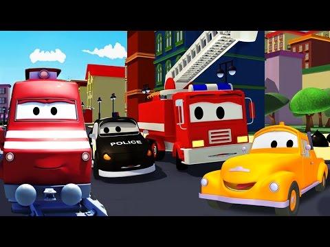 Odtahové auto Tom, Autohlídka, Car Patrol   Auta & pohádkove kamiony pro deti