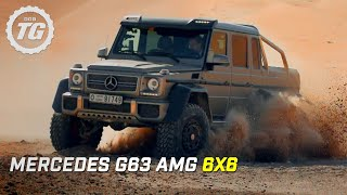 Download Lagu Mercedes G63 AMG 6x6 Review | Top Gear | Series 21 | BBC Mp3