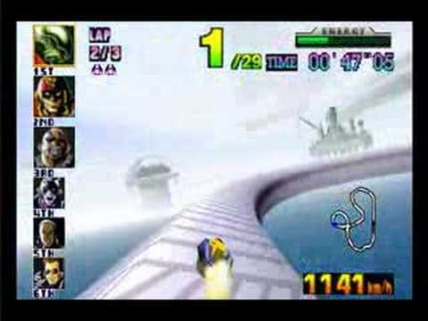 F-Zero X Big Blue master difficult