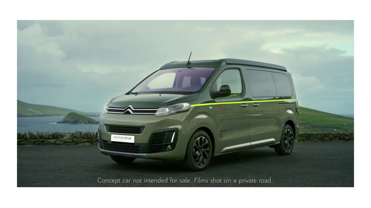 Концепт Citroën Spacetourer Rip Curl