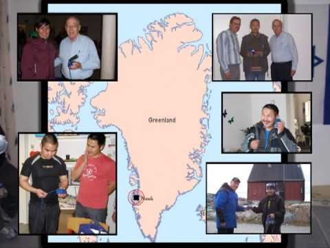 Greenland - A report of our partnership with Pastor John Nielsen, setting up Christian Radio in Greenland.