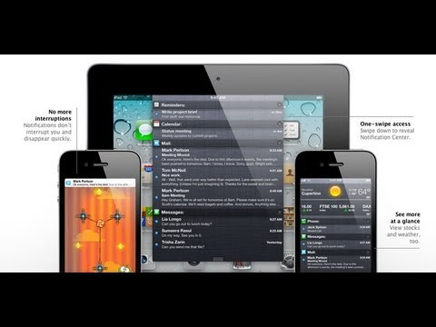 ios 5 - Apple iOS 5: Complete iOS 5 Overview Check out the new features coming to you iOS 5. Check Out What's coming in iOS 6: http://www.youtube.com/watch?v=_uQUGgk...