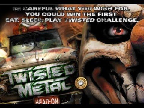 twisted metal head on psp gameplay