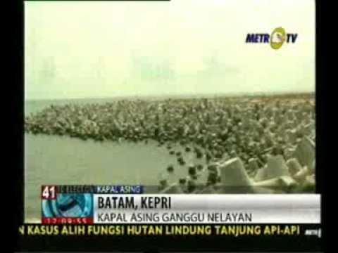 Angkatan Laut Malaysia Sering Masuk Perairan Pulau Nipah