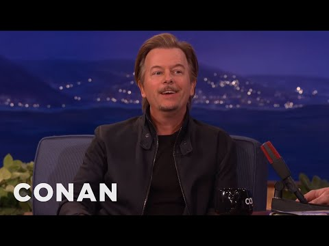 David Spade Remembers Chris Farley on Conan