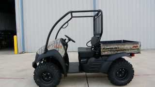 8. 2014 Kawasaki Mule 610 XC Camo   For Sale $8,499   With Top and Hitch Included!