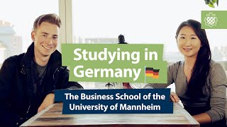 Mannheim Germany  city images : Studying in Germany: the Business School of the University of Mannheim