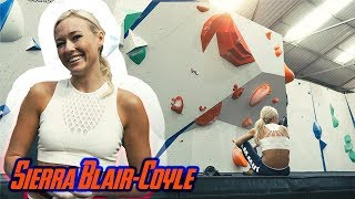 Sierra Blair-Coyle VS Kids Compwall In Sheffield ( Chill Session ) by Eric Karlsson Bouldering