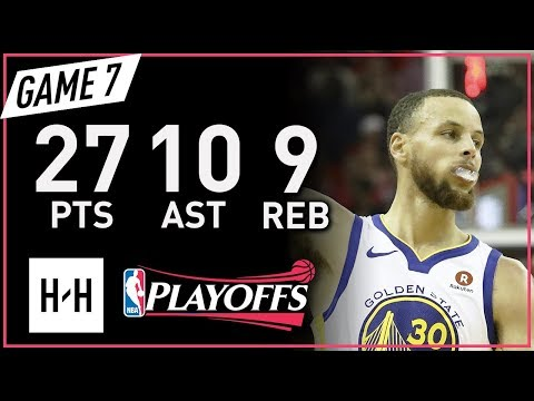 Stephen Curry Full Game 7 Highlights vs Rockets 2018 NBA Playoffs WCF - 27 Pts, 10 Ast, 9 Reb! (видео)